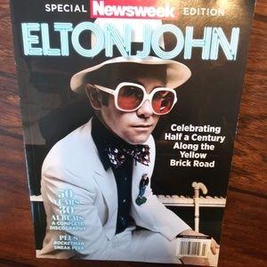 🔥NEW! Elton John Collector's Ed. Newsweek Mag🔥
